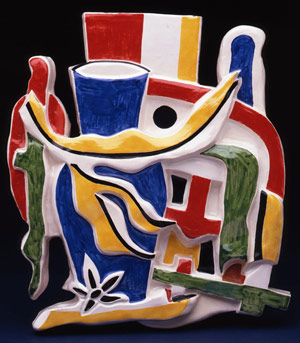 Fernand Leger ceramic - unique, Biot