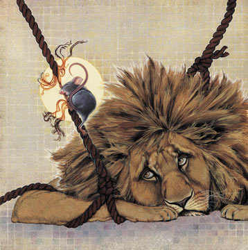 Lion and the mouse by arlene graston