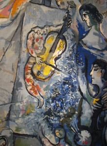 "Chagall Tapestry ""La Vie"" - Yvette Cauquil Prince"