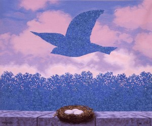 Rene Magritte - Printemps - Aubusson tapestry